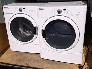 BRAND NEW MAYTAG EPIC Z FRONT LOADING WASHER AND DRYER COMBO