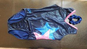 Beautiful navy blue GK brand dance/ gymnastics suit