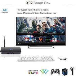Best kodi/Android tv box S912 octocore processor 2gb ram 16
