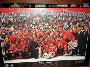 Board picture of world cup hokey champions