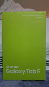 Brand new Samsung Galaxy Tab E