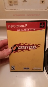 Crazy Taxi on PS2 Complete w. Manuel