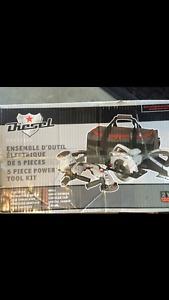 Diesel 5 piece power tool kit
