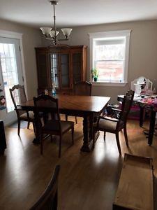 Dining room set.