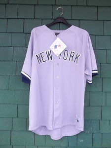 FOR SALE - (NEW) NEW YORK YANKEES JERSEY - GENUINE