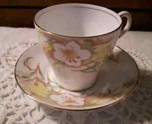 Fine Bone Bell China Tea Cup and Saucer
