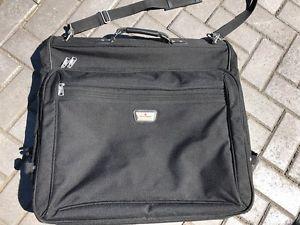 Garment bag suitcase travel