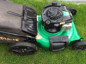 Gas lawnmower for sale very good condition
