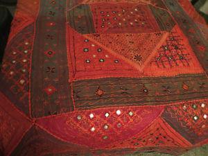 Handmade Indian Bedspread/Wallhanging/Quilt