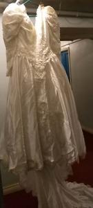 Jessica wedding dress,size 8,style m6