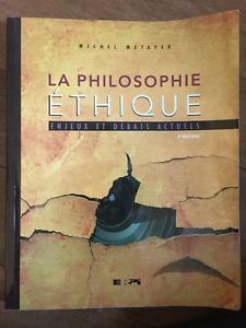 La philosophie de l'éthique (Michel Métayer)
