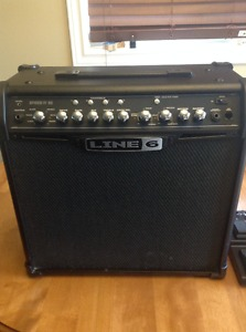 Line 6 Spider IV 30 Watt Guitar Amp with switch/expression