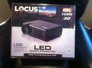 Locus LK Projector and Screen