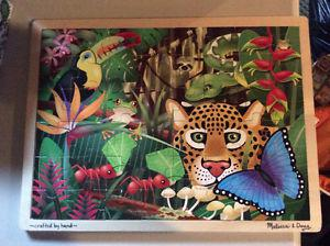 Melissa and Doug Rain Forest Wooden Puzzle