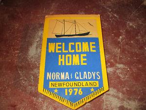 NORMA & GLADY'S WELCOME HOME  SIGN