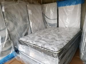 New Luxury mattress clearance, Europillowtop, medium firm