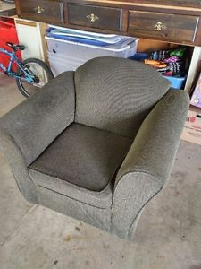 OLIVE GREEN CHAIR $60