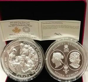 OZ Silver Coin Canada Confederation Medals