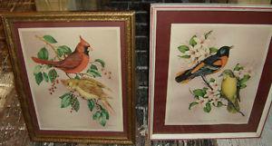 """}}} Pair of """"Vincent"""" Bird & Botanical Prints {{{"""
