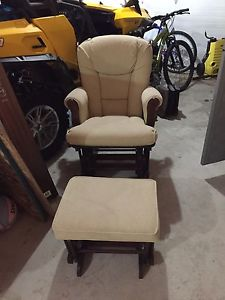 Shermag Glider Rocker Chair with Ottoman