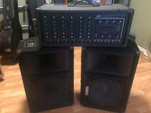 Small PA System - complete