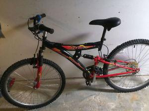 Supercycle 18 speed mountain bike, (26 Inch tires)