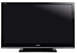 "TOSHIBA Regza 46"" HD LCD Television + Apple TV Box"