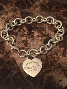 Used Tiffany & Co. bracelet and charm- Vancouver