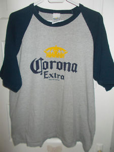 Vintage Corona Extra Authentic T Shirt Size XL In Very Good