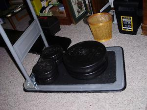 weights & sit up board