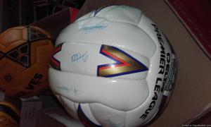 Signed football's beautiful condition