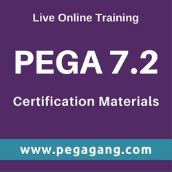 Pega Certification Oriented Training p Certification materials SERVICES