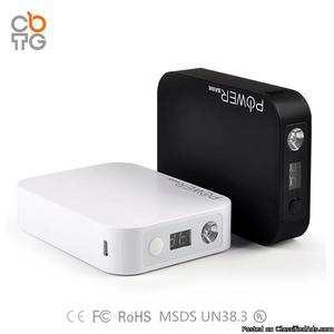 Qmah Power Bank Charger With LED Larger Capacity