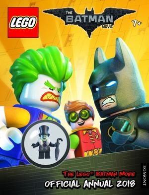 LEGO BATMAN MOVIE Official Annual  FREE LEGO TOY and Book FOR SALE