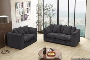 Buy Logan 3 + 2 Seater Sofa Set with Jumbo Cord at Suitable