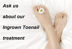 Ingrown Toenail Therapy Montreal SERVICES