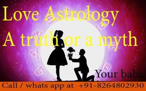 Love Astrology through vashikaran quick result 91  OFFERED