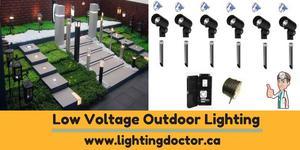 Lightingdoctor ca Landscape lighting manufacturer in Calgary Canada OFFERED
