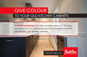 Give Colour to Your Old Kitchen Cabinets SERVICES