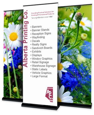 Get the Top Quality Indoor and Outdoor Printed Signs and Banners in Calgary SERVICES