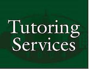 Tutoring Services OFFERED
