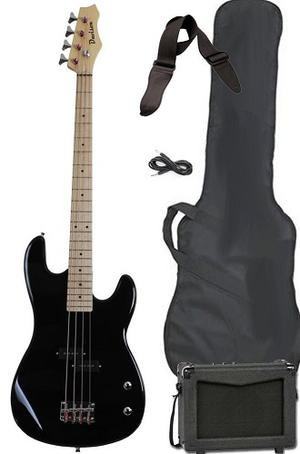 Full Size Black Electric Guitar With AMP Case And Accessories Pack FOR SALE