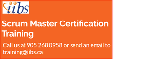 Certified Scrum Master Training in Mississauga OFFERED