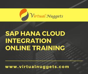 SAP HCI Online Training OFFERED