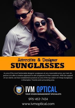Latest Designer Sunglasses in Brampton for Mens Womens FOR SALE