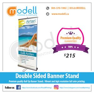 Pull Up Banner Stands p Modell Printing and Displays OFFERED