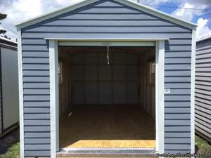 10x16 shed with roll up door $