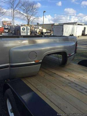 Dodge Dually Bed