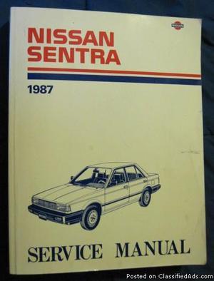 Nissan Sentra FACTORY Service Manual
