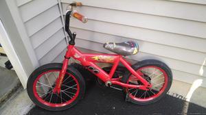 "16"" Disney CARS Red Boys Bike"
